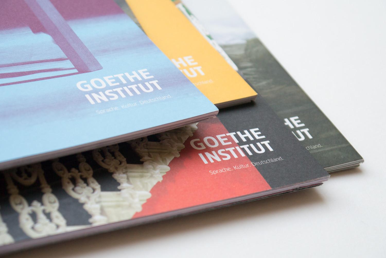 Goethe-Institut London programme design by Park Studio