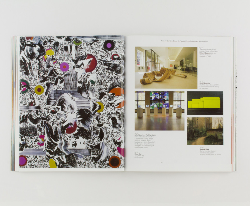 Scala Government Art Collection book designed by Park Studio