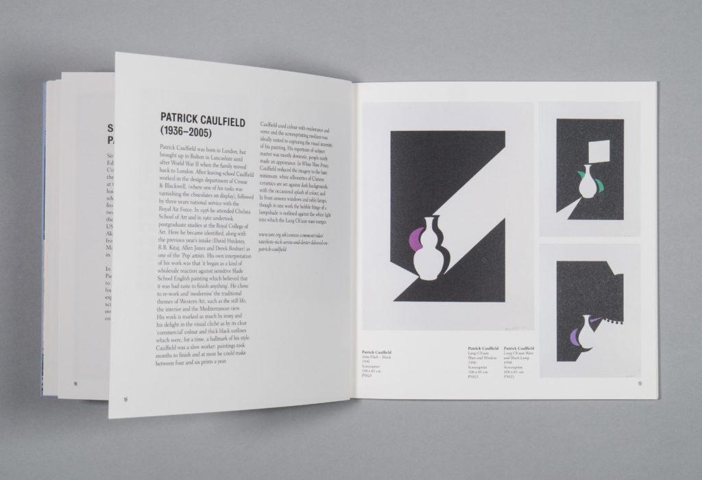 British Council Collection: New Delhi exhibition catalogue designed by Park Studio