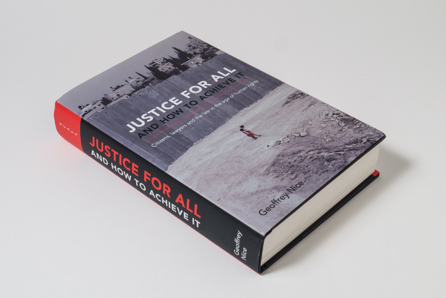 Justice for All book design by Park Studio