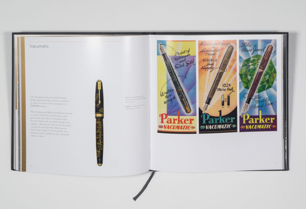 Parker: Heritage & Excellence book design by Park Studio