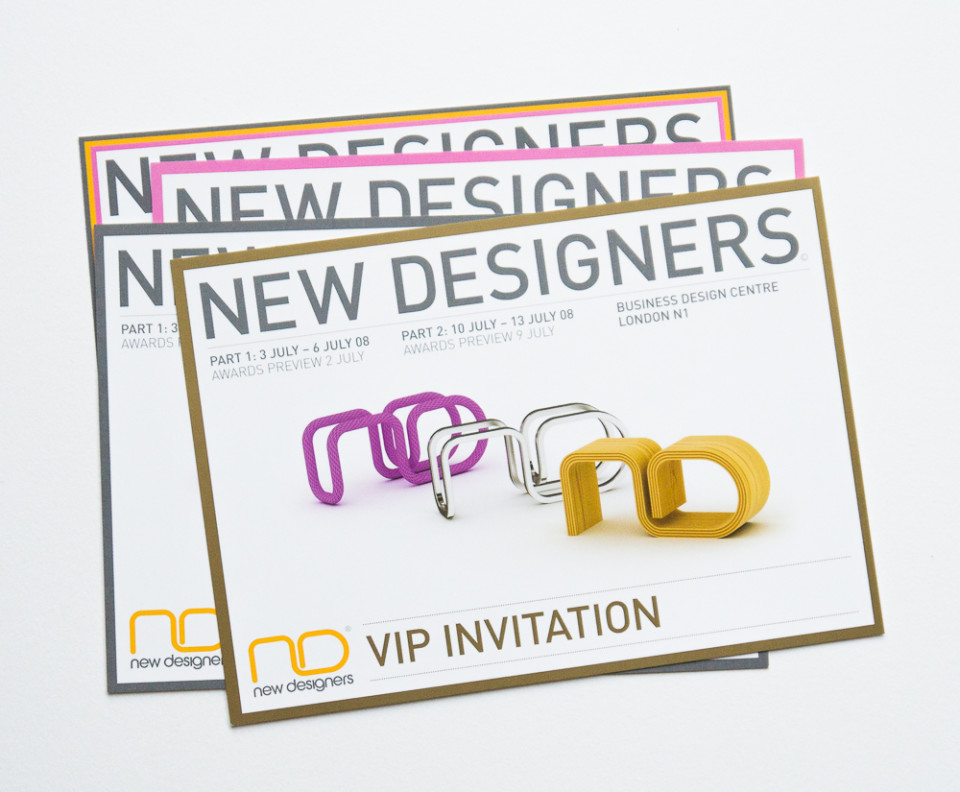 Creative campaign for New Designers exhibition – Park Studio