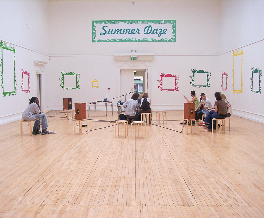 Exhibition graphics for Summer Daze at South London Gallery – Park Studio