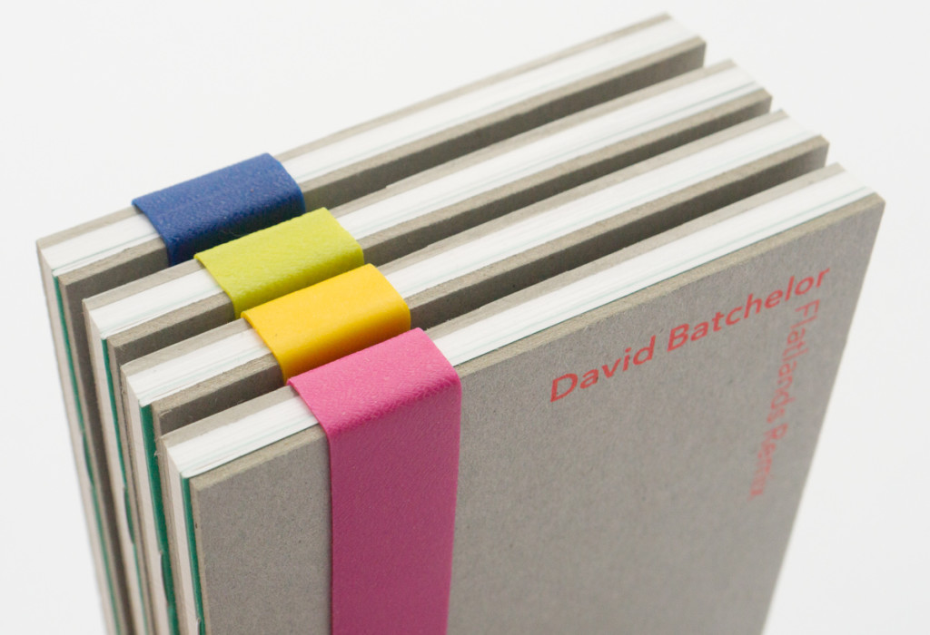 David Batchelor exhibition catalogue designed by Park Studio