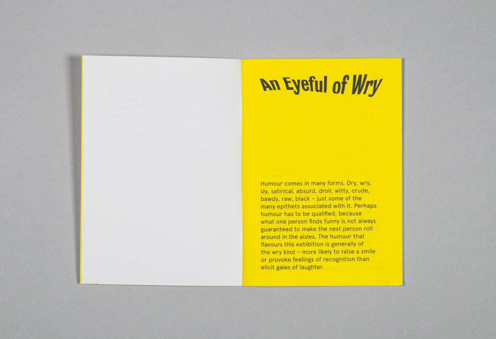 An Eyeful of Wry – Park Studio