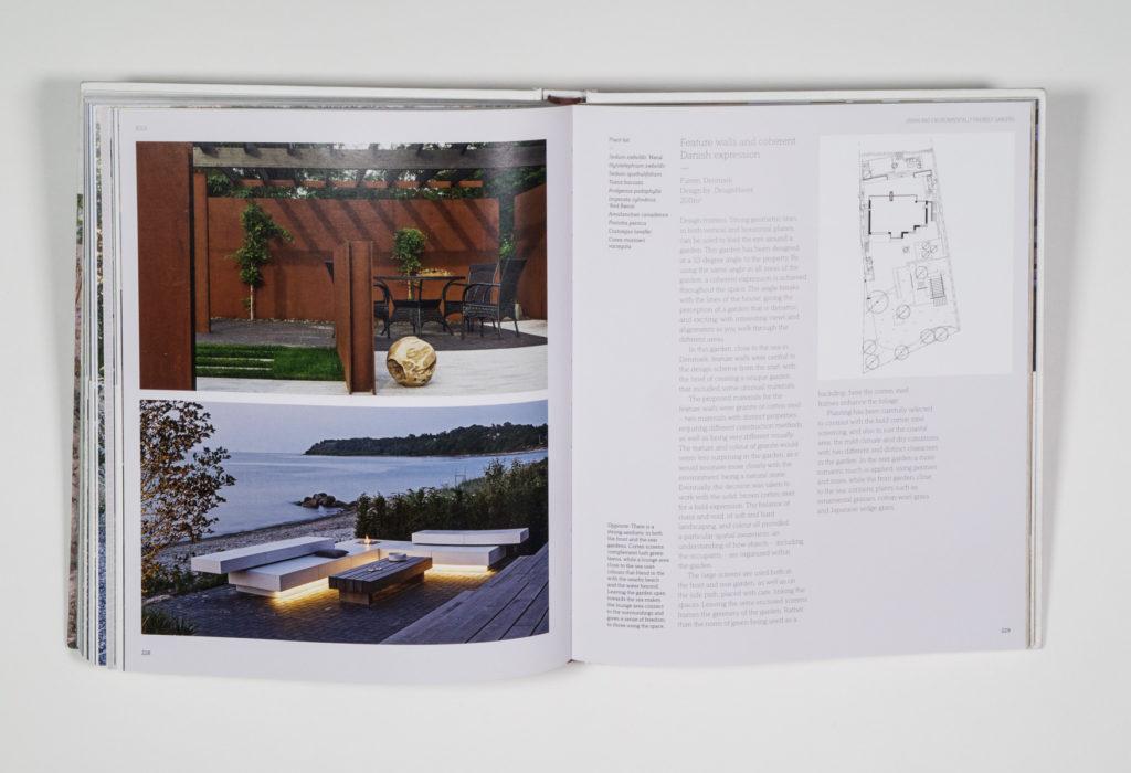 New Nordic Gardens book design by Park Studio