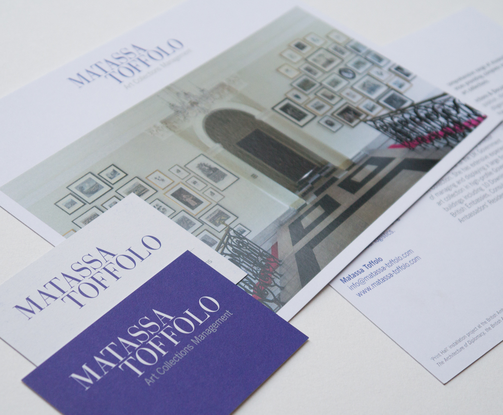 Matassa Toffolo visual identity designed by Park Studio